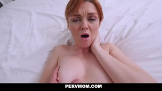 PervMom - Hot Mom Finds Stepsons Jizz Rag Panties mom
