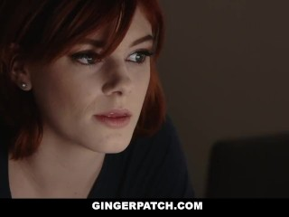 Preview 2 of GingerPatch - Horny Ginger Teen Gets Creampied
