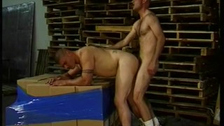 Warehouse Ass Fucking Muscled Latinos