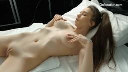 Koza Dereza hot vaginal masturbation