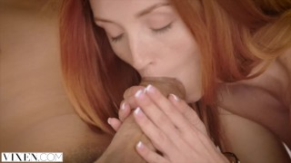 Preview 6 of VIXEN Beautiful Assistant Fucks Her Boss To Relieve Stress