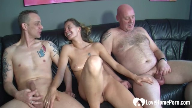 Married couple is banging with their friend