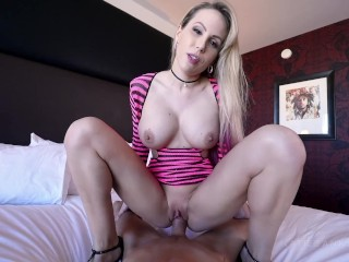 Amateurfacial POV Deep Pounding Squirt