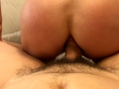 Lets try Anal reverse cowgirl... she screams - POV