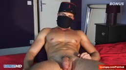 Full-video: French arab straight guy serviced until by us in spite of him