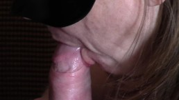 UK Slut Wife Blows Her Big Cocked Bull. Husbands POV