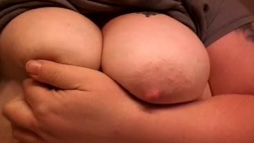 Bbw titty show