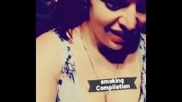 Smoking fetishes wet dream