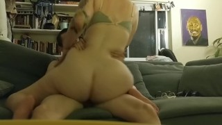 REAL SEX. PAWG. Beautiful and fun. On while