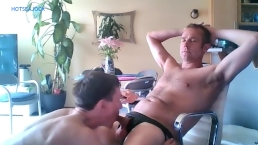 Dom Alpha Daddy Gets Verbal with Young Tweaker Sucking Cock