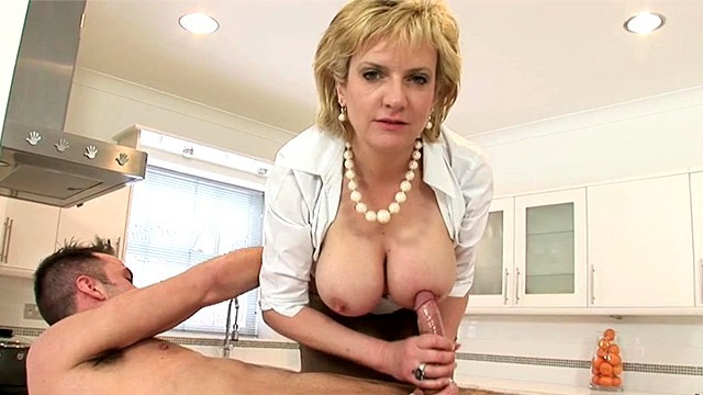 Nude studs for ladies - Lady sonia jerks off young stud on kitchen counter