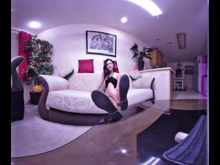 3D VR – Princess Maria's Teasing Sandal Dangle Trailer – 4K UHD 180