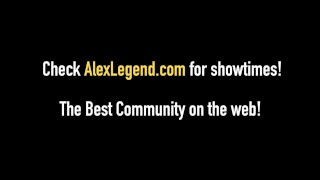 Fat Dick Alex Legend Drills 2 Body Stocking Babes At Once!