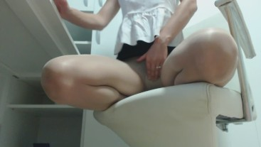Office lady.Having a orgasm .pantyhose day