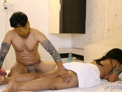 Massage Porn Of Indian Bhabhi Mona With Her Husband