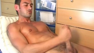 Ben, french air stew gets wanked his big cock in spite of him ! Teasing ass
