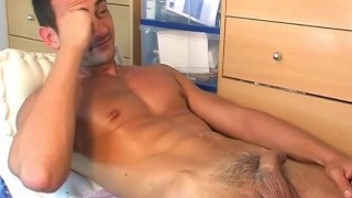 Spite gets french stew ben air his in him big cock of  wanked hunk european