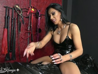mistress kennya toothpaste sounding and cbt trailer