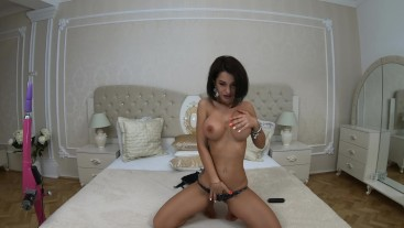 Anisyia Livejasmin 4k tease and slow cowgirl riding