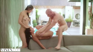 Naughty a a into students sneak huge college cock and fuck pool vixen two sitting cowgirl