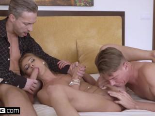 Videos White Girls Deep Throating White Cocks Glamkore - Cherry Kiss Fucks Her Husband And His Assis
