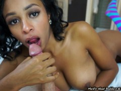 : Anya's oral creampie