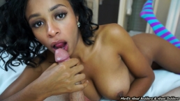 Anya's oral creampie