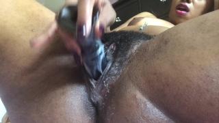 Spread open my pussy & ass - PINK INSIDE Mom stepmom
