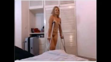 Naked & Crutching SLC Short Leg Cast