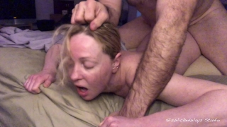 PAINAL Cute Blonde Gets Her Ass Fucked W/ Vibrator Stuffed in Her Pussy Swallow point