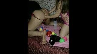 Femdom -Double fisted, punched, and some toy play.  fisting anal amateur couple anal fisting fisting punch pegging double fisting gaping femdom extreme
