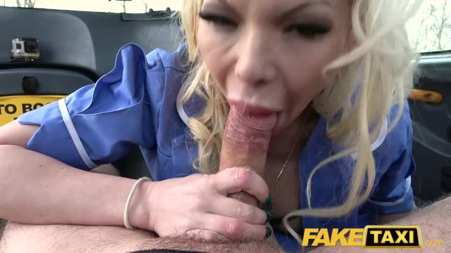 Fke delta goodrem nude Fake taxi busty naughty nurse pisses and rough fucking with dirty cabbie