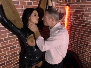 Ania Kinski accedes to the deviant fantasy of her boss – Bitches scene 3