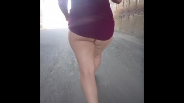 Voyeur wife photos com A day with the wife in mini skirt