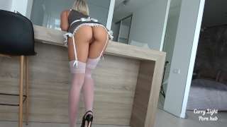 Fucked maid hard been nude girl service from maid motion