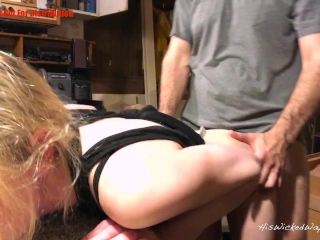 [Painal] Little Bunny Learns a Lesson About Manners, Rough Anal Punishment
