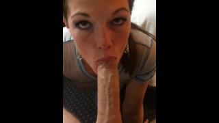 Megan zass blowjob