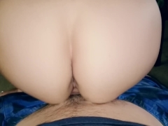 Bouncing on Cock in Slow-mo