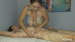 Happy Ending Massage With Hot Busty Wife Charlee Chase!