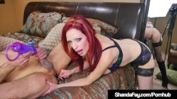 Crazy Hot Cougar Shanda Fay Uses Nexis Penis Pump On Hubby!