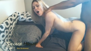 She Loves Getting Pounded & Owned By His BBC