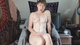 Pussy swollen from multiple orgasms