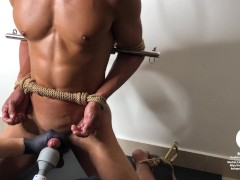 Full frontal expose with balls hanging low!