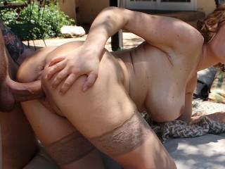 Nude girl bj on the street