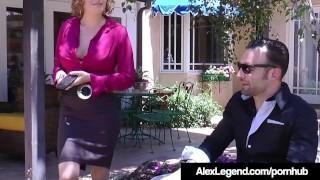 Hot Realtor Krissy Lynn Fucks French Alex Legend To Get Sale