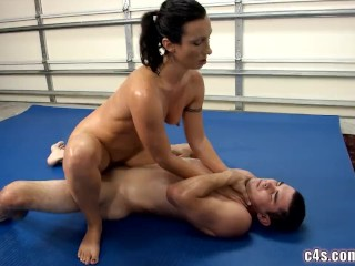 Erotic female bondage and fucking