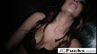 Horny Jayden Cole teases and pleases herself Dom fem