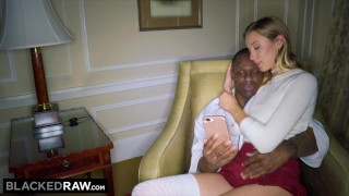 BLACKEDRAW NYC Teen Fucks The Biggest BBC in The World Bangbros milf