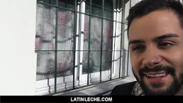 LatinLeche - Bearded Latin Guy Used On Camera