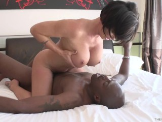 Watch My Bf Fucking, Shay Fox gets the monster pole of Lex Steele and a big facial Big